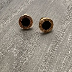 Tory Burch earrings black/gold.